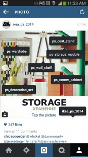 IKEA PS 2014 Instagram storage product profiles tagged