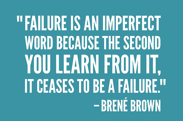 Anna's favorite Brené Brown quote from SXSW 2016